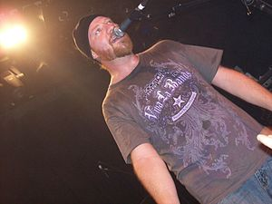 Jess Margera - Margera performing with CKY in 2010.