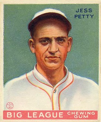 Jesse Petty - Image: Jesse Petty Goudeycard