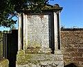 Jessie Lewars gravestone, St Michael's cemetery, Dumfries, Scotland.jpg