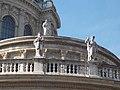 Jesus Christ, Saint John, Saint Andrew, St. Stephen's Basilica, 2016 Budapest.jpg
