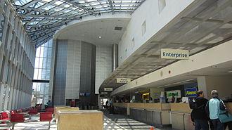 Portland International Jetport - Interior of Car Rental
