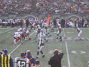 2006 New York Jets season - The Texans on offense at the Meadowlands in week 12 of 2006