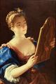 Jeune Femme au Miroir - Jean Raoux.png