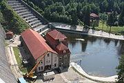 Jezioro Pilchowickie Elektrownia wodna przy zaporze (7).JPG