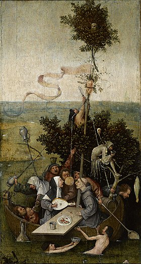 Image illustrative de l'article La Nef des fous (Bosch)