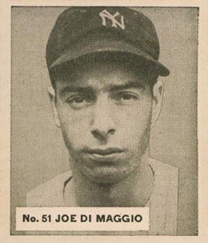 English: 1936 Goudey World Wide Gum baseball c...