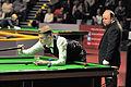 Joel Walker and Nico de Vos at Snooker German Masters (Martin Rulsch) 2014-01-30 01.jpg