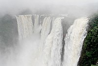 Jog Falls are the highest plunge waterfalls in India, formed by Sharavathi River