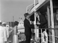John Connally welcoming President Kennedy Aboard Sequoia July 11, 1963.png
