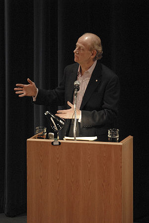 John Ralston Saul - John Ralston Saul delivers a lecture at the University of Alberta on 17 November 2006