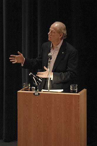 John Ralston Saul - John Ralston Saul delivers a lecture at the University of Alberta on November 17, 2006