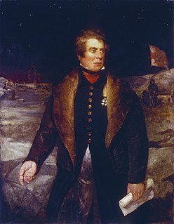 British naval officer and Arctic explorer
