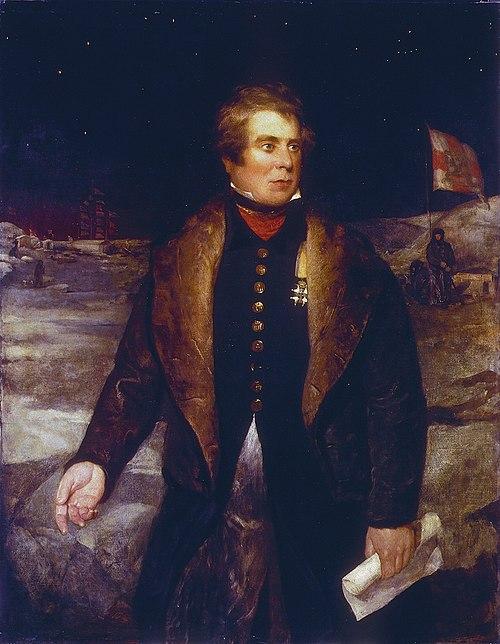 John ross (1777 1856), by british school of the 19th century