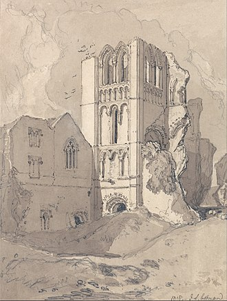 Norwich School of painters - Image: John Sell Cotman Castle Acre Priory, Norfolk Google Art Project (2461204)