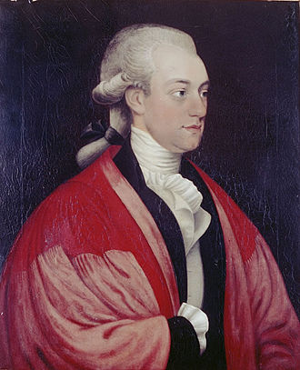 John Sibthorp - Sibthorp in a doctoral robe