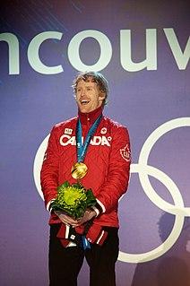 Jon Montgomery Canadian skeleton racer