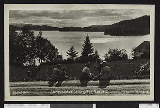 Jonsvatnet - Image: Jonsvandet. Utsigt fra Flaten no nb digifoto 20150623 00124 bldsa PK16864