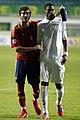 José Campaña and Geoffrey Kondogbia - Euro U19 2012.jpg