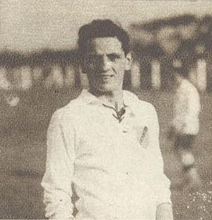 Giuseppe Rosetti - Rosetti playing for Colo-Colo in 1920s.