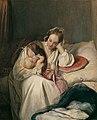 Josef Danhauser - Mutterliebe (Die Gattin des Künstlers mit Kind) - 280 - Österreichische Galerie Belvedere.jpg
