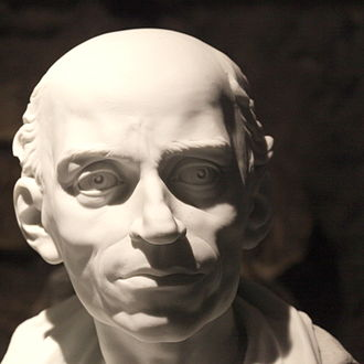 Joseph Chalier - Porcelaine bust of Chalier made after his death