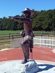 Joseph E. Johnston monument Bentonville