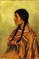 Joseph Henry Sharp - Blackfoot Indian Girl (1905).jpg