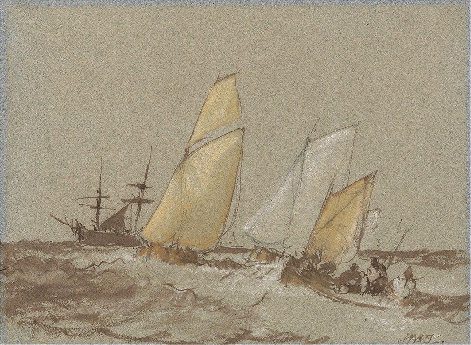 Joseph Mallord William Turner - Shipping - Google Art Project