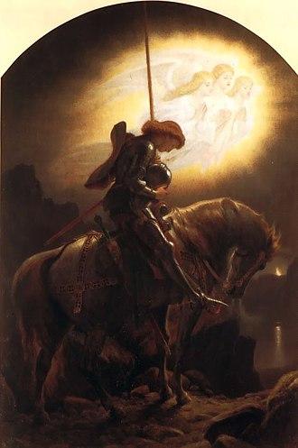 Galahad - Sir Galahad by Joseph Noel Paton