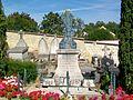 Jouy-le-Moutier (95), monument aux morts du cimetière.jpg
