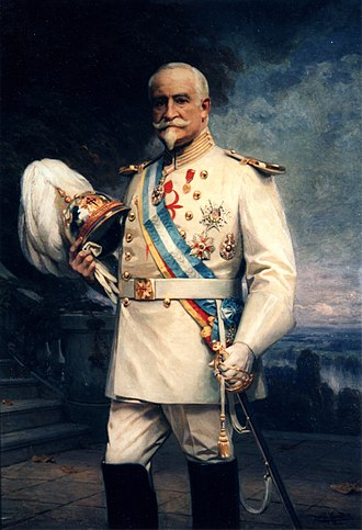 Order of Santiago - The Count of Guaqui in the uniform of the order, ca. 1910