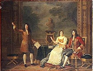 Racine Reading Athalie Before Louis XIV and Madame de Maintenon