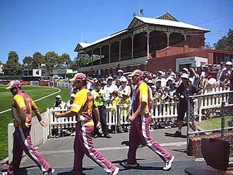 Junction Oval - The Junction Oval in 2005, taken prior to the redevelopment.