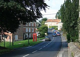 Chapmanslade village in United Kingdom