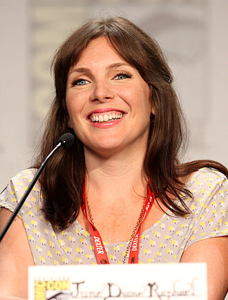 June Diane Raphael - Raphael at the 2011 San Diego Comic-Con International