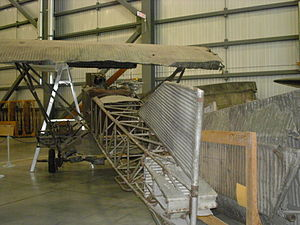 Junkers - The only surviving J.I is at the Canada Aviation Museum.