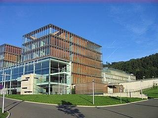 Justice Center Leoben architectural structure