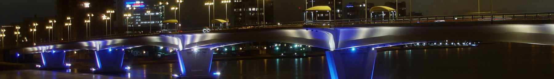 Jyväskylä banner Bridge at night.jpg