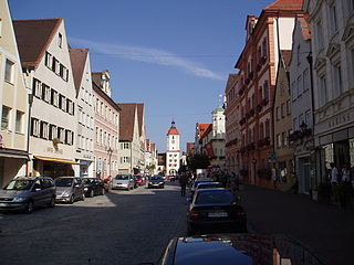 Dillingen an der Donau Place in Bavaria, Germany