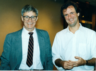 Kenneth E. Iverson - Ken Iverson and Arthur Whitney, 1989