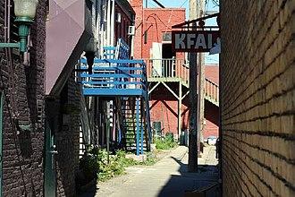 KFAI - KFAI Studio entrance