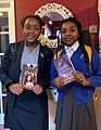 KIrsten and Aiyven Mbawa Holding their debut novels 2020.jpg