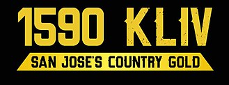 KLIV - KLIV's logo during the classic country format
