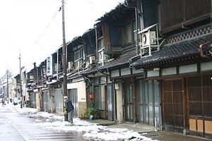 Komatsu, Ishikawa - Image: KOMATSU OLD TOWN IN JAPAN 001