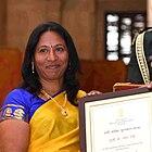 Kagganapalli Radha Devi and her award