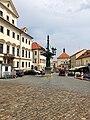 Kandelábr, Loretánská, Hradčany, Praha, Hlavní Město Praha, Česká Republika (48790529683).jpg