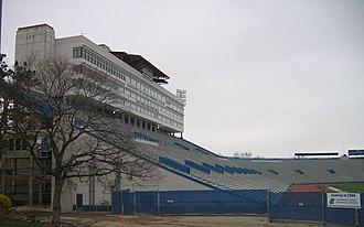 Memorial Stadium (University of Kansas) - Image: Kansas Memorial Stadium
