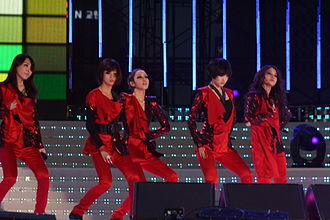 Kara (South Korean band) - Kara in 2010