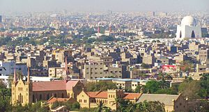 Karachi from above