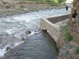 Karaste Canal - Karaste Canal, Tagab District.